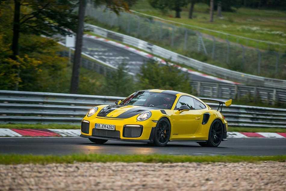 El GT2 RS se convierte en el Porsche 911 más rápido de todos los tiempos