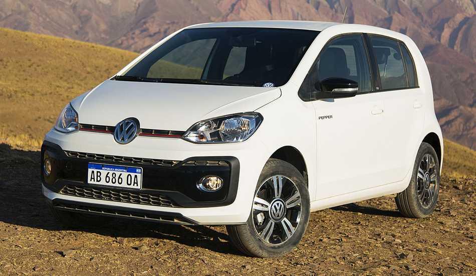El Volkswagen Up! Pepper se comercializa en Argentina a $305.174