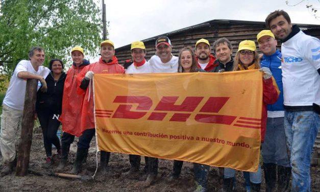 Empleados de Deutsche Post DHL de la Argentina y el mundo marcan una diferencia en sus comunidades locales