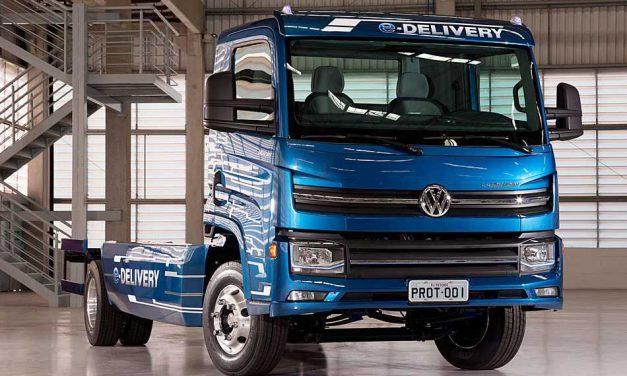Fenatran 2017: Volkswagen presentó el e-Delivery, su primer camión eléctrico