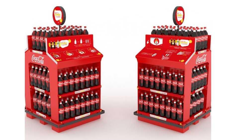 Grupo Básicos diseñó una nueva experiencia de compra para Coca-Cola
