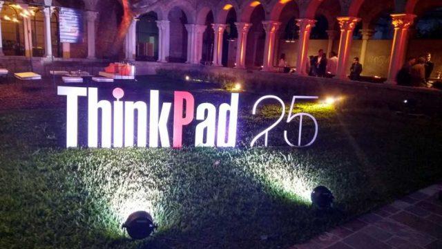 Lenovo celebró los 25 años de su emblemática ThinkPad