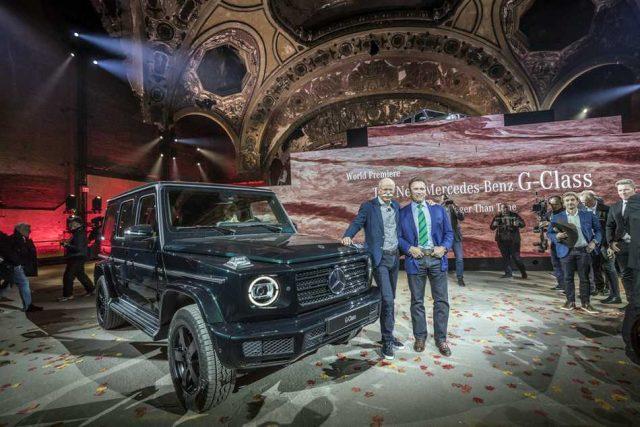 Mercedes-Benz presentó la nueva Clase G de la mano de Schwarzenegger