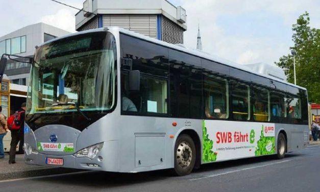 Al final la china BYD lleva su fábrica de ómnibus eléctricos a Buenos Aires