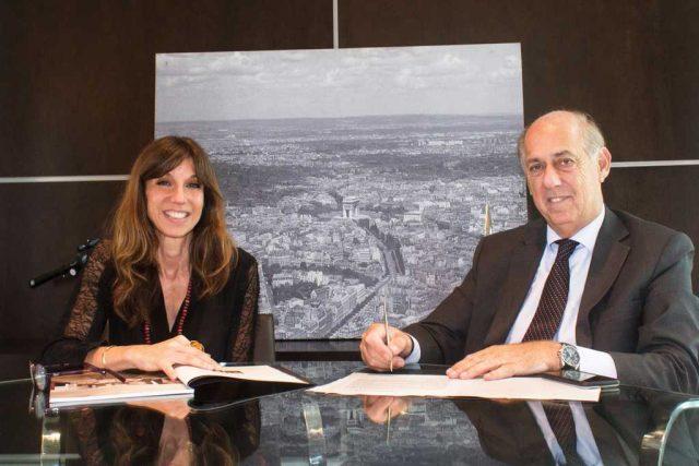 Fontenla y Claudia Faena acuerdan una alianza