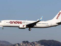 Andes volará a las Islas Malvinas