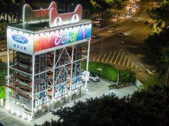 Ford inauguró la primera expendedora de vehículos en China