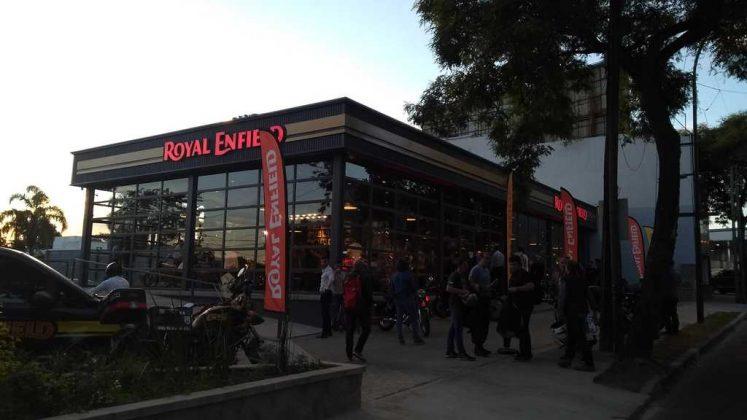 Royal Enfield desembarca en Argentina