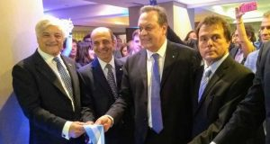 Ministro Santos inauguró Howard Johnson Plaza Buenos Aires