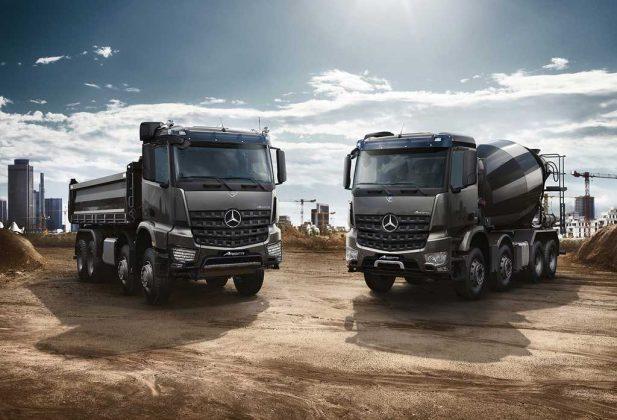 Mercedes-Benz presentó los nuevos Actros y Arocs