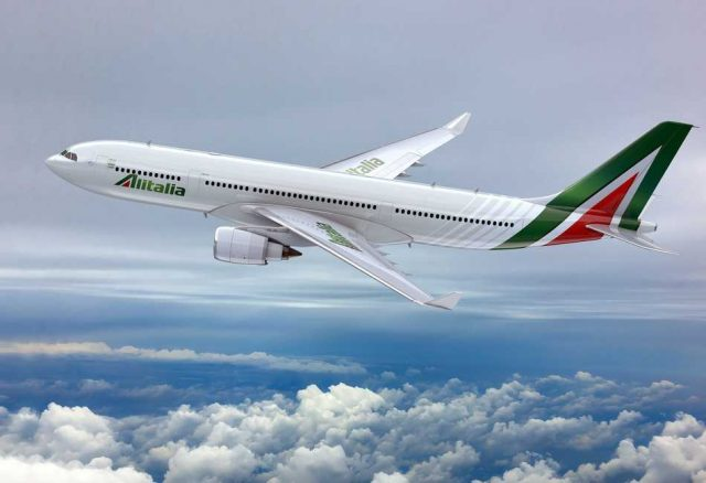Alitalia registró un aumento del volumen de pasajeros del 10,6%