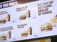 """Burger King se burla de McDonald's tras perder la marca """"Big Mac"""" en Europa"""