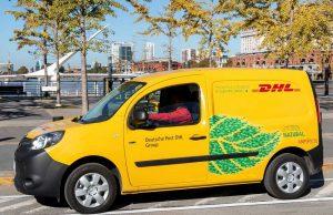 DHL Express Argentina incorpora camionetas 100% eléctricas