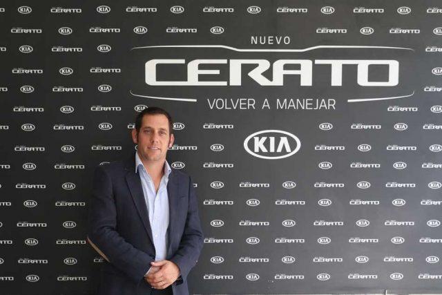 Nuevo gerente de Comercial, Marketing y Producto de Kia Argentina