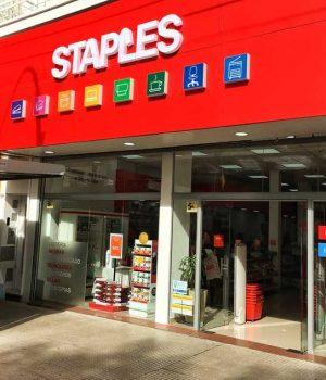 Staples Argentina inauguró su nueva tienda en Barrio Norte