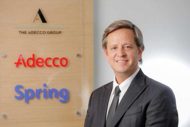 Leandro Cazorla es designado CEO del Grupo Adecco para Argentina y Uruguay