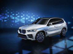 El BMW i Hydrogen NEXT presente en el Salón del Automóvil de Frankfurt 2019.