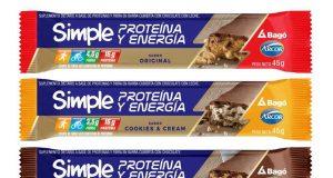 Arcor y Bagó innovan con dos nuevos sabores de Simple Proteína y Energía