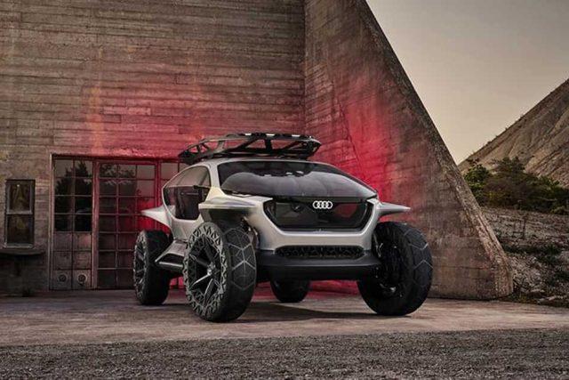 Audi Al:Trail, un prototipo de buggie eléctrico muy sofisticado