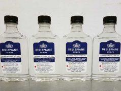 Dellepiane elabora y dona alcohol sanitizante