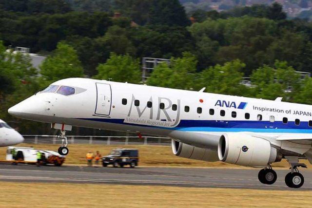 Mitsubishi estudia cancelar el Spacejet M100