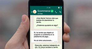 Chats por Whatsapp entre usuarios y empresas crecieron 500% en abril