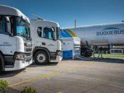 Scania a GNL