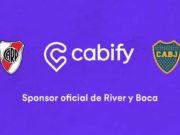Cabify es el nuevo sponsor oficial de River y Boca
