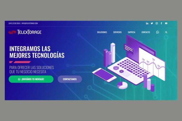 TelexTorage presenta su nuevo sitio web