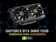 EVGA presenta sus GeForce RTX 3060 12GB XC y XC Black