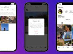 La nueva función 'eliminada recientemente' de Instagram te permite restaurar publicaciones eliminadas