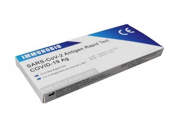 Cómo se usa y cuánto cuesta el único test rápido de coronavirus aprobado por la ANMAT para venta en fa rmacias