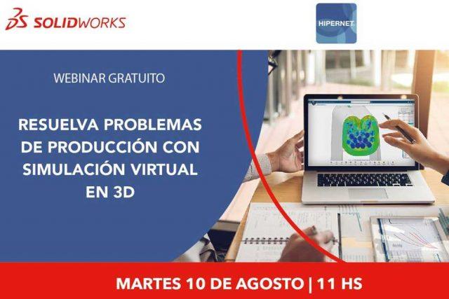 ¿Cómo resolver problemas de Producción con Simulación 3D?